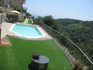 Classic style pool by italiagiardini Classic