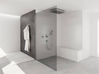 AIR Carbonglas:  Badezimmer von Duscholux Sanitärprodukte GmbH