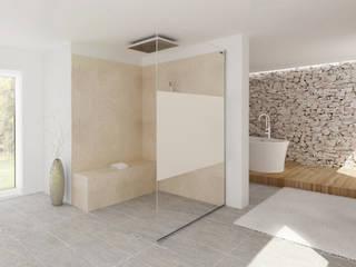 AIR teilsatiniert:  Badezimmer von Duscholux Sanitärprodukte GmbH