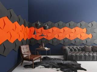 Fluffo Soft Chain 3D: styl , w kategorii  zaprojektowany przez FLUFFO fabryka miękkich ścian