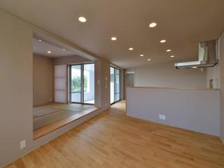 プラソ建築設計事務所 Ruang Keluarga Modern