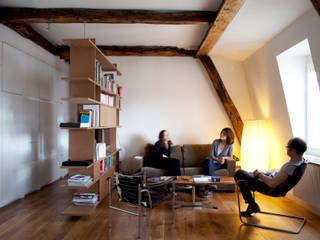 PARIS 11° Salon minimaliste par RBB architectes Minimaliste