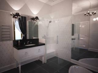 Łazienka eklektyczna: styl , w kategorii Łazienka zaprojektowany przez Axentim