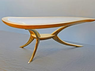 "Table basse ""N°5"" / Coffee Table ""#5"" par Jean Zündel meubles rares Éclectique"