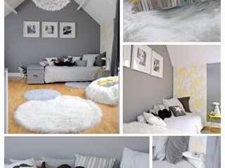 Modern Kid's Room by idée ô logis Modern