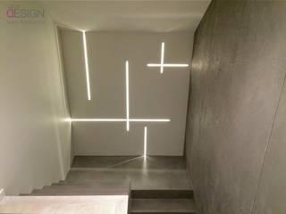 SCHODY: styl , w kategorii Korytarz, hol i schody zaprojektowany przez kabeDesign kasia białobłocka