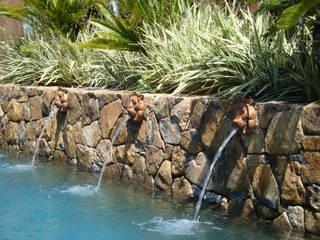 Tellini Vontobel Arquitetura สระว่ายน้ำ