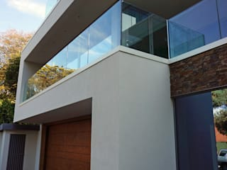 Brudenell Avenue, Canford Cliffs, Poole David James Architects & Partners Ltd Nowoczesne domy