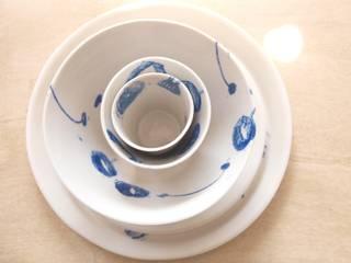 Ensemble Porcelaine:  de style  par Envol création contemporaine