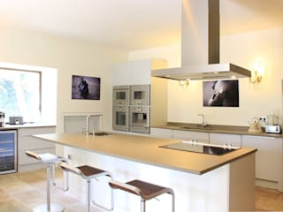 Cuisine maison en Provence Cuisine minimaliste par Sylvie Bagros Minimaliste