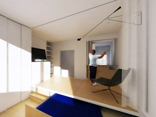HAB-RÉNOVATION D'UN APPARTEMENT T1 EN T1+ ! Studioscop