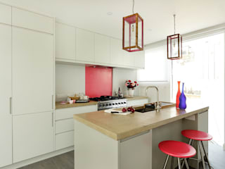 Open-Plan Kitchen/Living Room, Ladbroke Walk, London Cue & Co of London Cocinas de estilo moderno