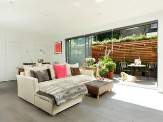 Open-Plan Kitchen/Living Room, Ladbroke Walk, London Modern living room by Cue & Co of London Modern
