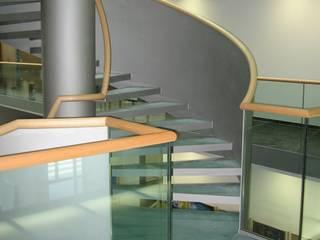 Modern office buildings by Ernst Stahl- und Treppenbau GmbH Modern