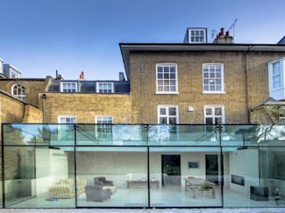 Barnes, London Minimalist conservatory by Maxlight Minimalist