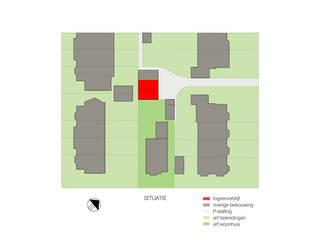 OUTstee: modern  door UMBAarchitecten, Modern