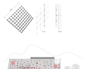 Vertical metals Firenze Kantor & Toko Minimalis Oleh Arteferro Minimalis