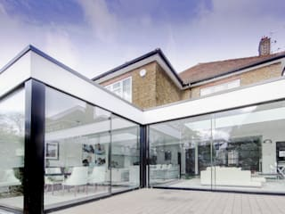 Stonehill, London Modern windows & doors by Maxlight Modern