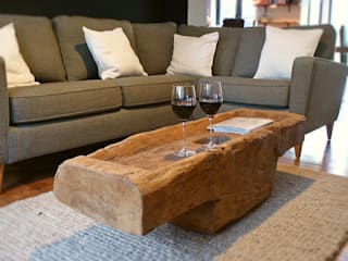 Rustic Coffee Table de BluBambu Living Rústico
