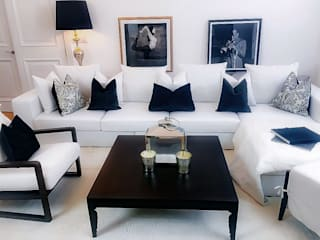 London W1 Flat Maison Noblesse Modern living room