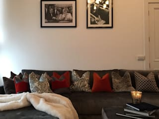 Projekty,  Salon zaprojektowane przez Maison Noblesse