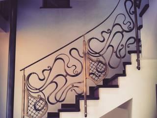 Art Nouveau Luxury Balustrades:   by Maison Noblesse
