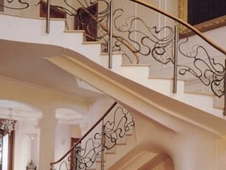 The Art of Forging Iron Maison Noblesse Corridor, hallway & stairsStairs