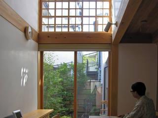 Salle à manger moderne par 株式会社松井郁夫建築設計事務所 Moderne