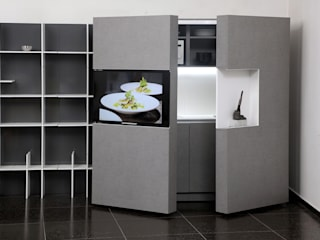 Pop-up kitchen PIA - Tex de Dizzconcept Moderno