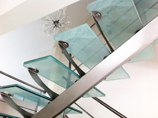 Escalier avec impression tissu:  de style  par S.I.B