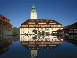 Gutjahr-Drainagen schützen G7-Schauplatz Schloss Elmau:  Hotels von Gutjahr Systemtechnik GmbH