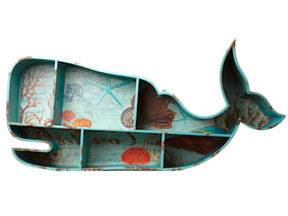 Whale Shelves: eclectic  by Hunter Gatherer, Eclectic