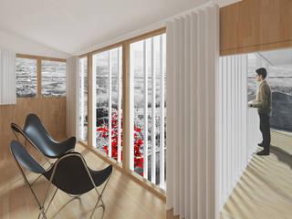 Churrasco House soma [arquitectura imasd] Puertas y ventanas de estilo moderno