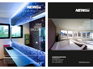 NEWLINE Advertising di Studio Farina Zerozero - Graphic Design Minimalista