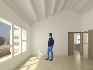 The Little House soma [arquitectura imasd] Salones de estilo moderno