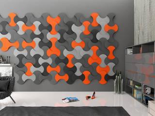 Wzory Paneli FLUFFO: styl , w kategorii  zaprojektowany przez FLUFFO fabryka miękkich ścian