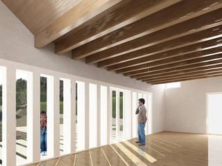 La Casa Pilates soma [arquitectura imasd] Salones de estilo moderno