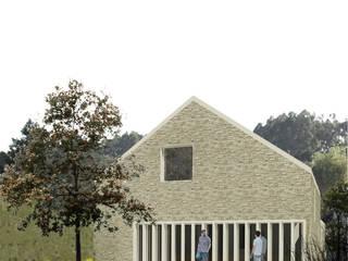 La Casa Pilates soma [arquitectura imasd] Casas de estilo moderno