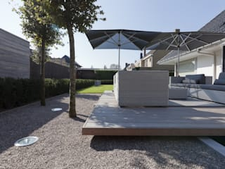 im Main-Taunus-Kreis Moderner Balkon, Veranda & Terrasse von Ecologic City Garden - Paul Marie Creation Modern