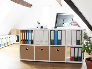 Arbeitszimmer - Büroregale Regalsystem BOON:  Arbeitszimmer von Regalraum GmbH