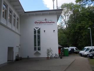 Schäden im Abseits: Drainsysteme schützen Terrasse des Kölner Geißbockheims:  Gastronomie von Gutjahr Systemtechnik GmbH
