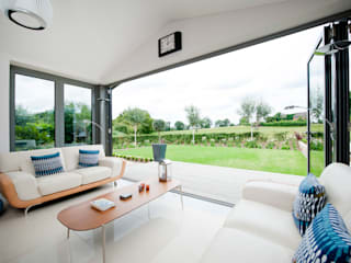 Modern Kitchen / Lounge Extension homify Konservatori Modern