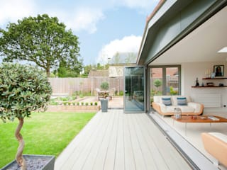 Modern Kitchen / Lounge Extension Jardines de invierno de estilo moderno de homify Moderno