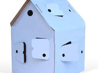 maison en carton design:  de style  par trompette