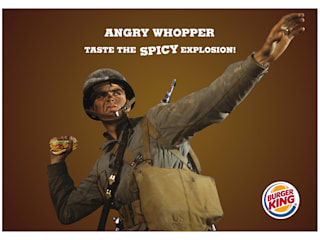Burger King:  in stile  di Studio Farina Zerozero - Graphic Design