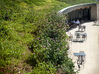 Gloucester Services Green Roof by Sky Garden Ltd Country