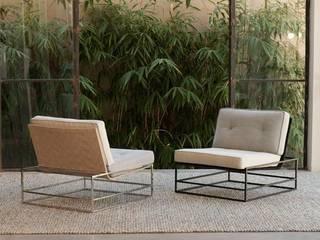 Tributo para NEOBOX - Poltrona e Mesa por Estúdio de Design Minimalista