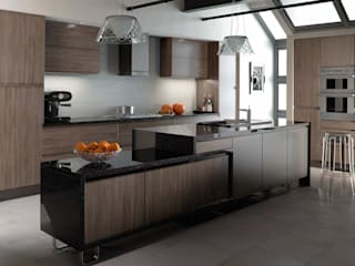 Dark coloured kitchen images di Dream Doors Ltd Classico