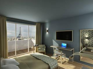 Render camera da letto:  in stile  di ilRender Modeling e Rendering