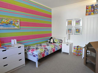 The childrens' bedroom:  Bedroom by K-Tribe Studió